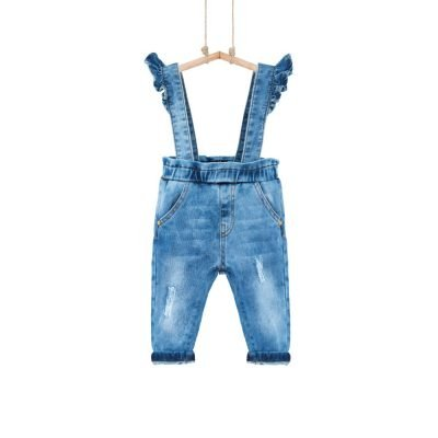 Rifľové nohavice na traky Máša Bebakids