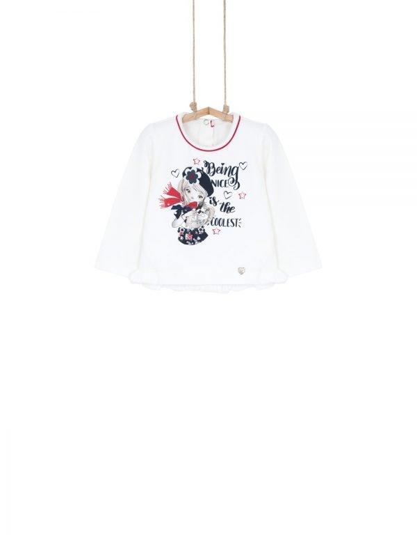 Dievčenské BIO tričko Fifi Bebakids