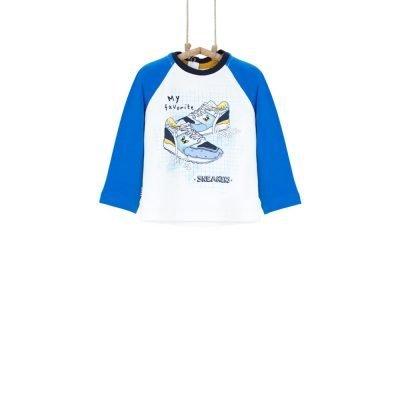 Chlapčenské tričko Ranglan Bebakids s  teniskami, 92-98
