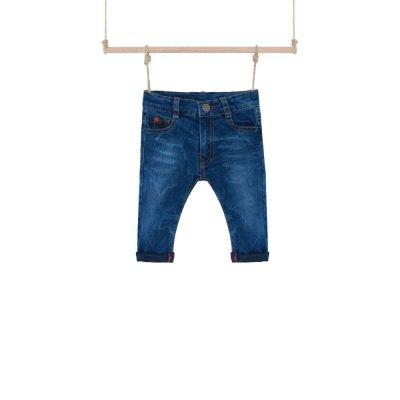 Chlapčenské rifľové nohavice Prinston Bebakids