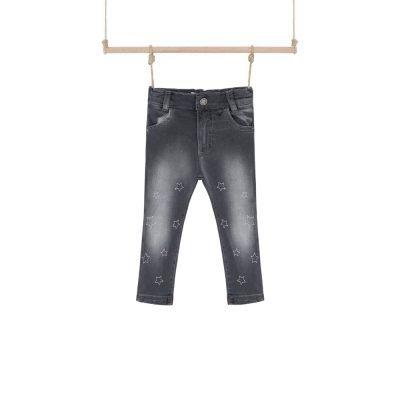 Dievčenské rifľové nohavice Hviezda Bebakids
