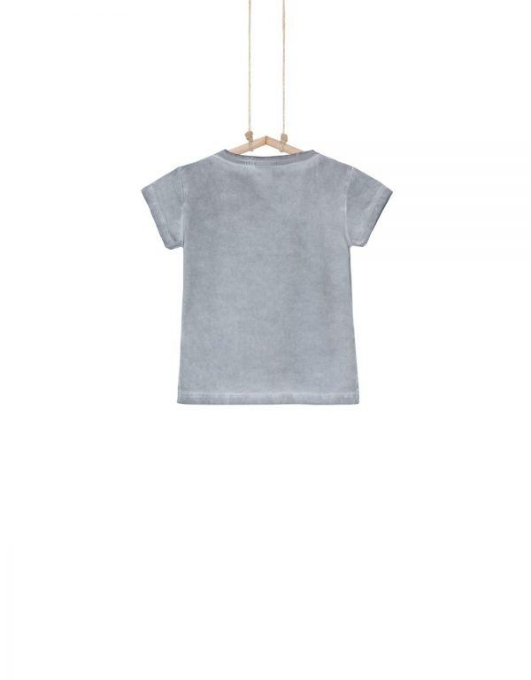 Tričko AZRA so zamatovým efektom