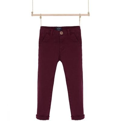 chlapcenske nohavice bordove