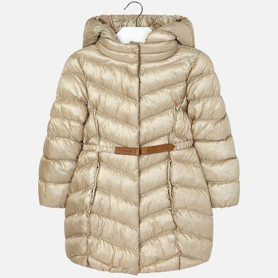 Dievčenská bunda MAYORAL zlatá