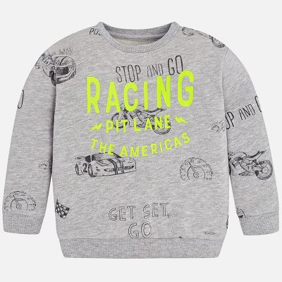 Chlapčenské tričko RACING MAYORAL šedé