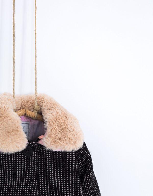 Dievčenský kabát na zimu 92, 98 Bebakids