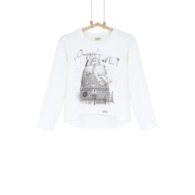 Dievčenské tričko z biobavlny Bebakids Zoe