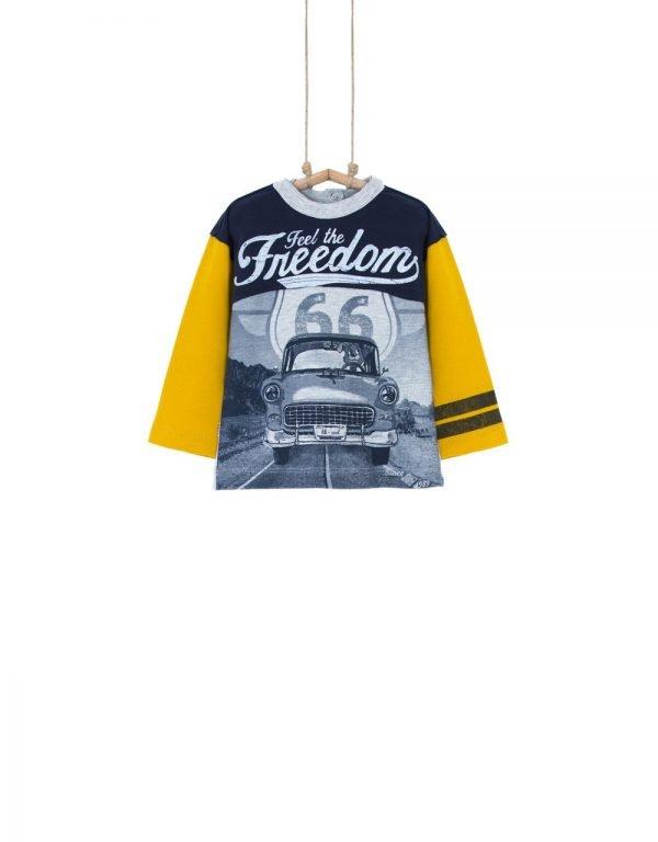 Chlapčenské tričko BEBAKIDS FREEDOM