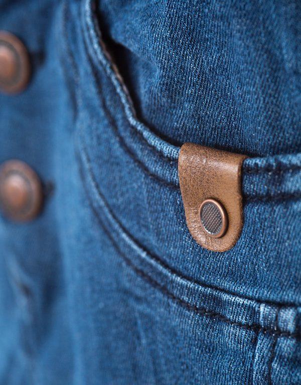 Rifľové nohavice na gumu chlapčenské Bebakids