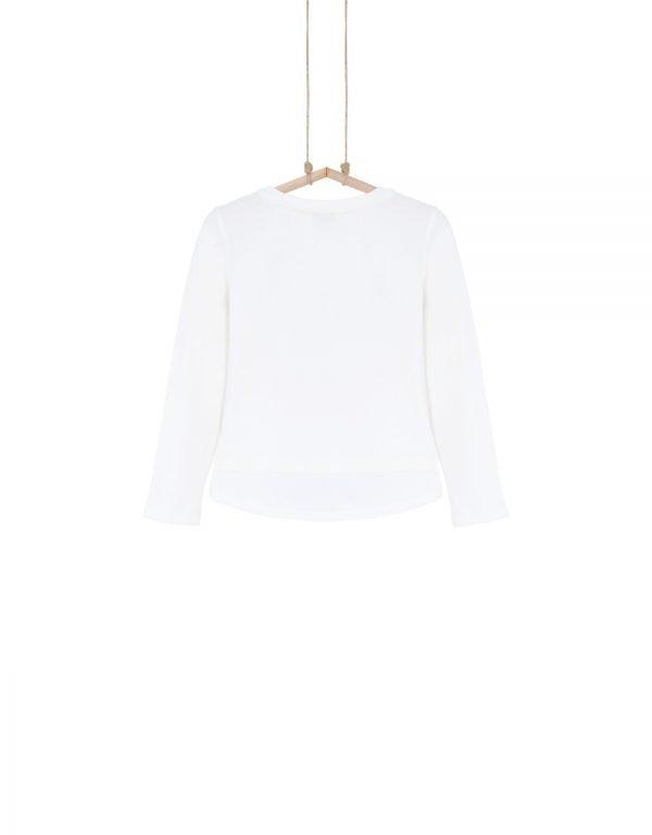Dievčenské tričko biele  WONDER Bebakids
