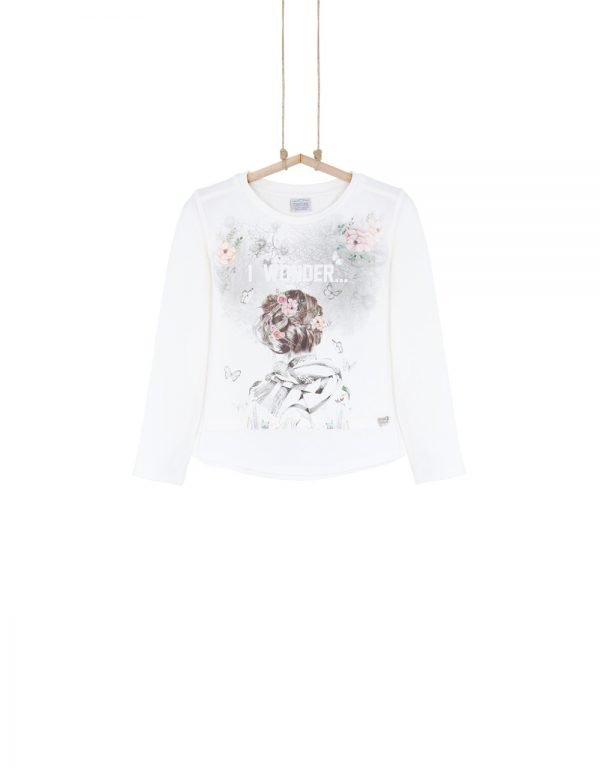 Dievčenské tričko bavlnené  WONDER Bebakids
