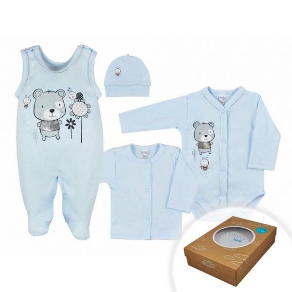 dojčenská súprava 4-dielna Koala Darling modrá