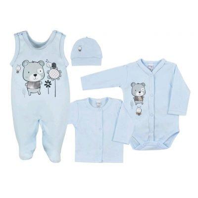 súprava pre novorodenca bavlnená Koala Darling 4-dielna