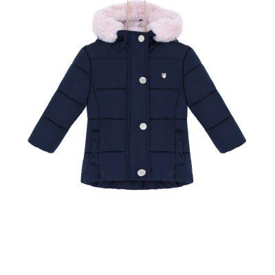 dievčenská zimná bunda