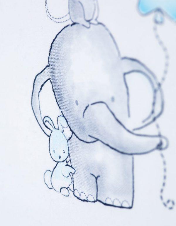 originalne body dojcenske 62 bebakids slonik