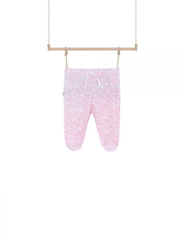 Dojčenské polodupačky ružové Bebakids
