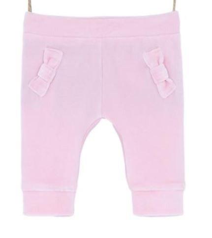 Dojčenské tepláky ružové pre bábätko Bebakids