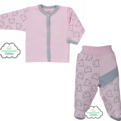 Dojčenská BIO súpravička Koala Malí Mackovia ružová