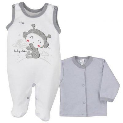 2-dielna dojčenská súprava Koala Clouds biela