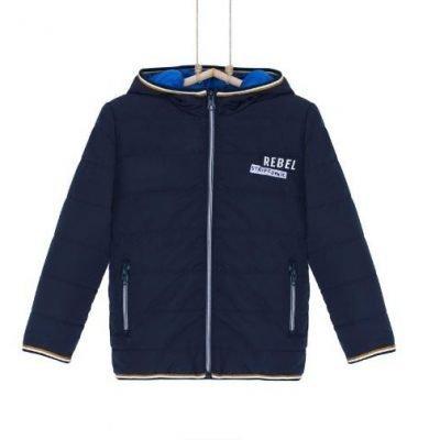 Chlapčenská prechodná bunda modrá