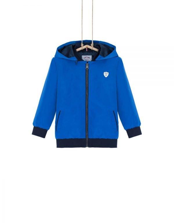Chlapčenská prechodná bunda Bebakids Nautic modrá