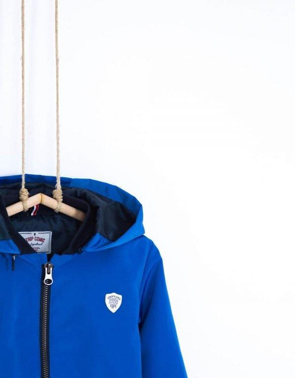 bunda pre chlapcov prechodná modrá Bebakids