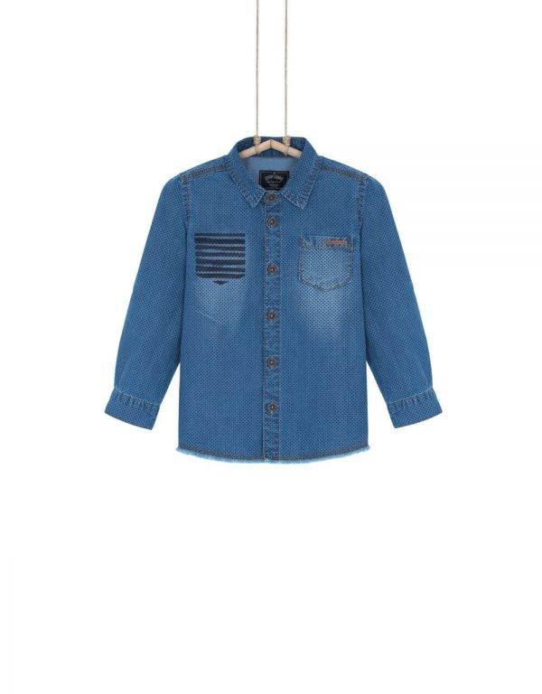 Chlapčenská rifľová košeľa DENIM Bebakids