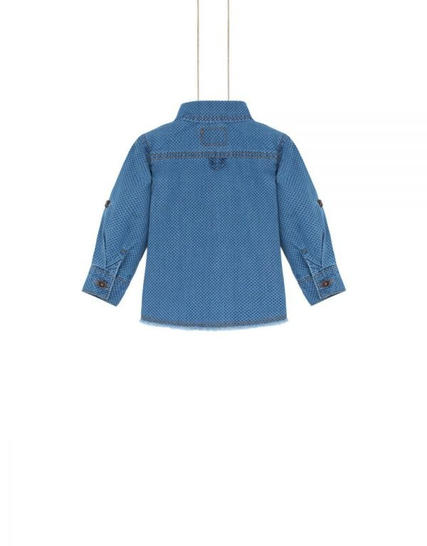 Chlapčenská  rifľová košeľa DENIM
