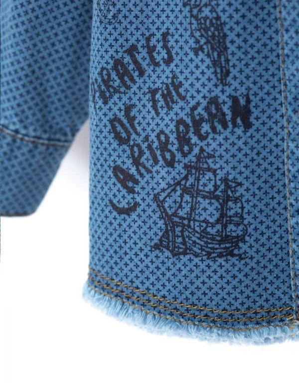 Chlapčenská denimová košeľa DENIM
