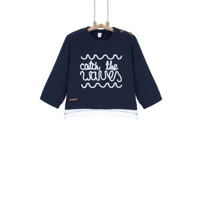 Chlapčenské tričko s nápisom bavlnene Bebakids