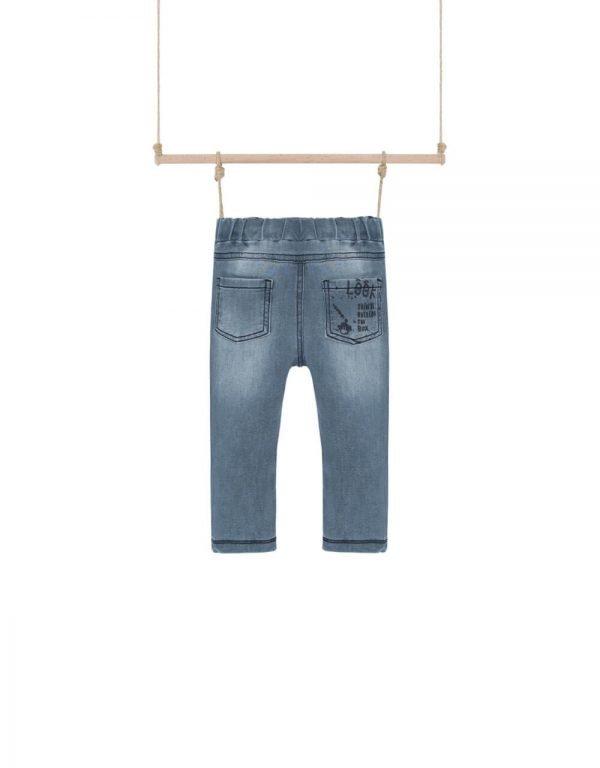rifľové nohavice na gumu chlapcenske