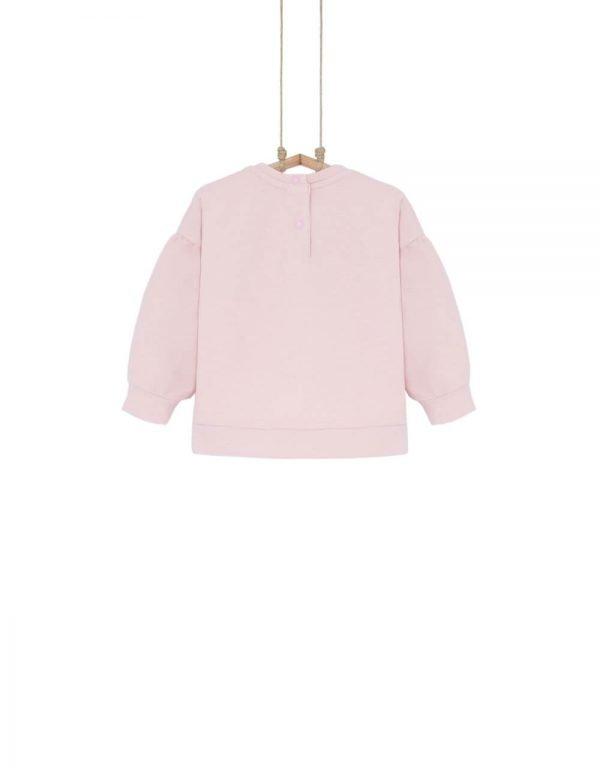 dojčenské tričko ružové