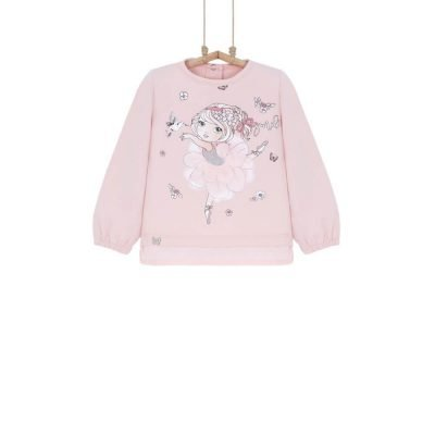 Dievčenské tričko ružové Bebakids