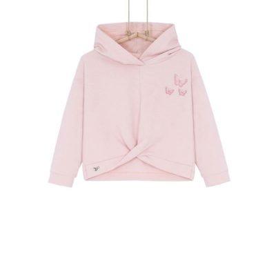 dievčenská mikina ružová