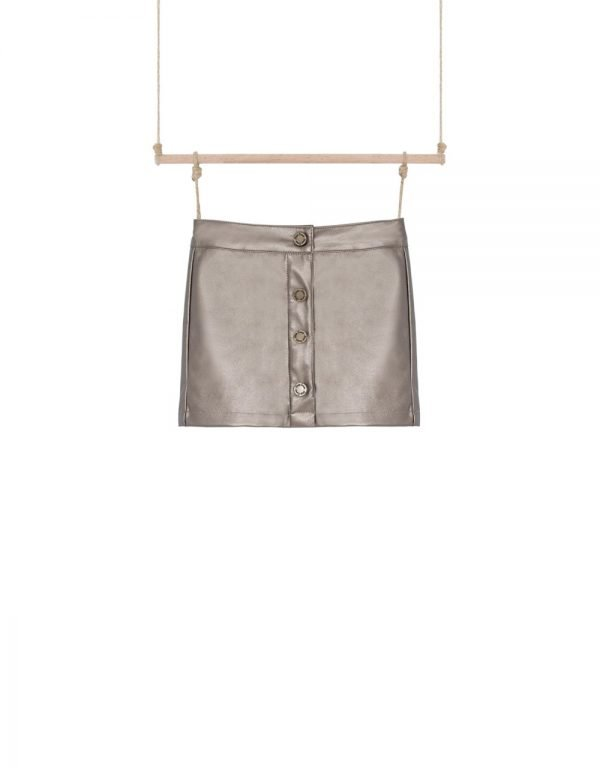 štýlová sukňa metalická Bebakids 104 110