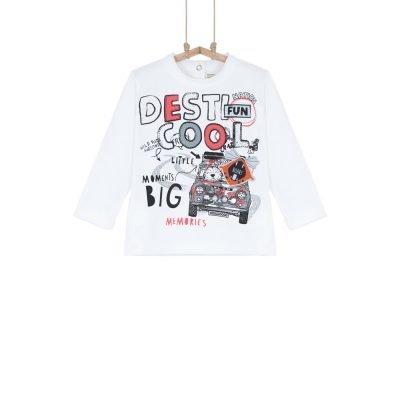 detské tričko bavlnené chlapčenskí 74 80