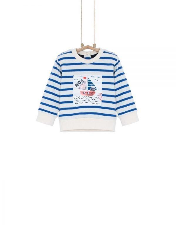 detské tričko námornícke pásikavé Bebakids 80