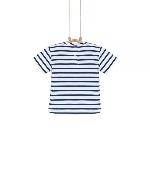 detské tričko pruhované 92 86