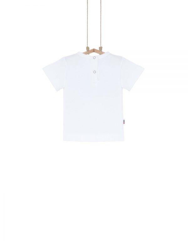 detské tričko biele