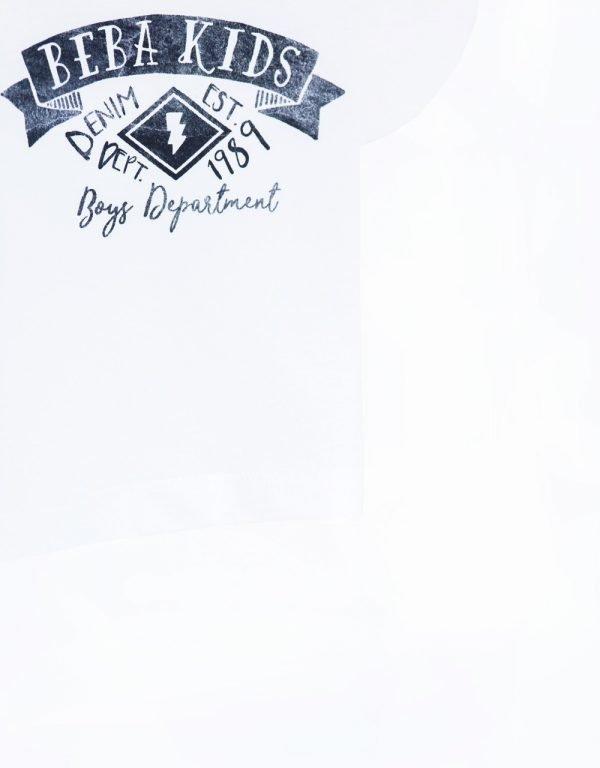 biele tričko detské 92 98