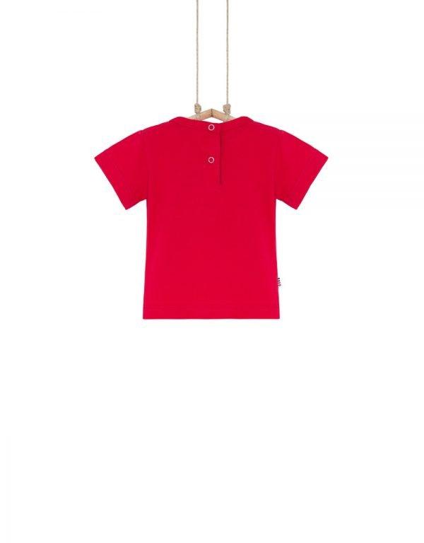 detské tričko červené 86 92