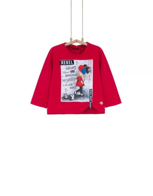 detské tričká dievčenské Bebakids