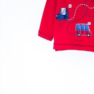 detské tričko s autíčkami