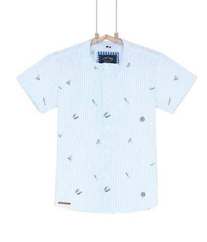 detská košeľa s krátkym rukávom