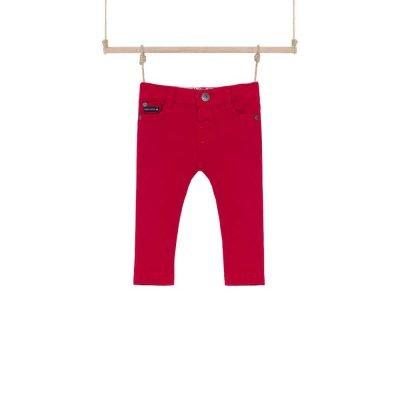 chlapčenské nohavice červené