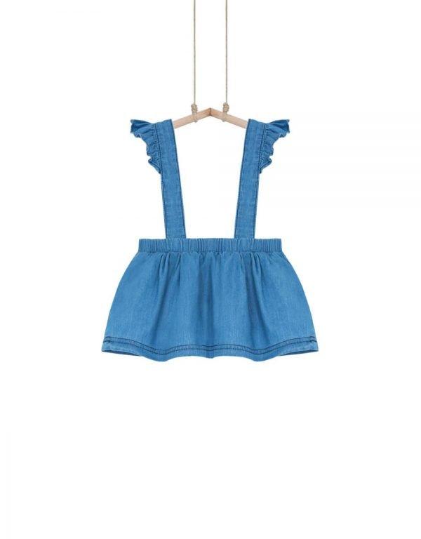 dievčenská sukňa na traky