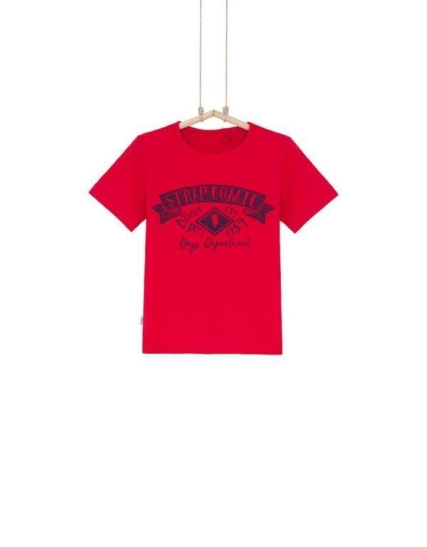 červené tričko chlapčenské