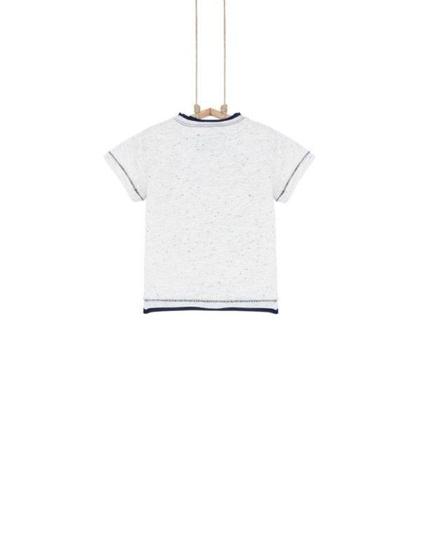 chlapčenské tričko béžové
