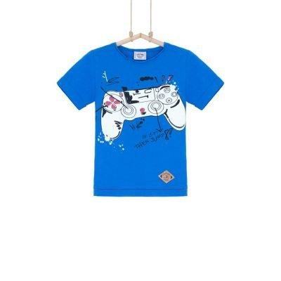 chlapčenské tričko modré