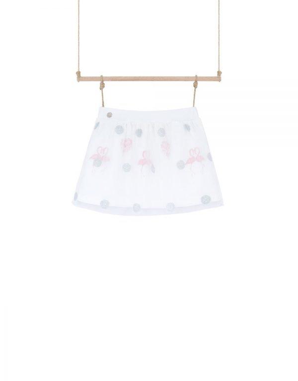 dievčenská sukňa letná
